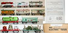 Mintish RARE Modern MARX Limited Speical CHRISTMAS NORTH POLE set w/Extra Cars