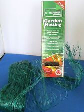 GARDEN NETTING PROTECTION POND FISH CROPS FRUIT VEGETABLE PLANT 3 X 2M 15MM MESH