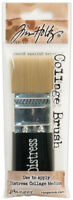Tim Holtz  Collage Brush For Distress Collage Medium 1 1/4 in Wide