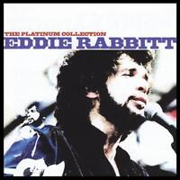 EDDIE RABBITT - THE PLATINUM COLLECTION CD ~ I LOVE A RAINY NIGHT +++ *NEW*
