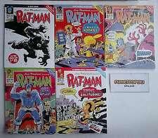 RAT- MAN Collection n.ri 113/122 + litogr. OPERAZIONE RATTO Panini Comics NUOVI!