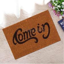 Welcome-Go Away Doormat Funny Indoor Outdoor Floor Mat Non Slip Home Cushion