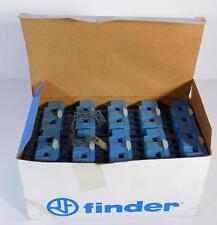 10 each Finder 9674 / 96.74 Socket for Screw Term Socket 15A 250V NOS NIB