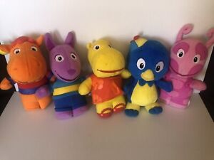 Backyardigans Plush Fisher-Price Character Lot