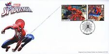 GB 2019 - Marvel Smilers - single stamp/label FDC