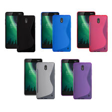 Nokia 2 S-Line Silicone Gel Cover Case In Various Colours (Only For This Phone)