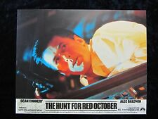 THE HUNT FOR RED OCTOBER lobby card #6  ALEC BALDWIN