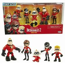 Disney Pixar The Incredibles 2 Family 5 Pack Junior Supers Action Figures