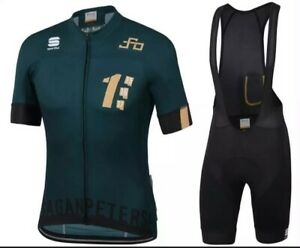 PETER SAGAN ONE GOLD  Men's Cycling Jersey with Shorts Bib Suit Road Cycling