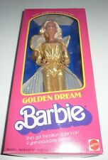 RARE Vintage 1980 Golden Dream Barbie doll.