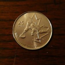 Canada 2007 Vancouver 2010 Olympic Curling 25 cent Roll