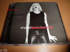 CRYSTAL LEWIS cd FEARLESS satisfied REACH OUT trust me KISS & TELL one man