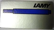 LAMY T10 Tintenpatronen blau (1 Päckchen mit 5 Patronen)