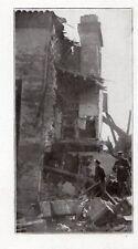 82 MONTAUBAN MAISON DETRUITE PAR CATACLYSME IMAGE 1930 OLD PRINT