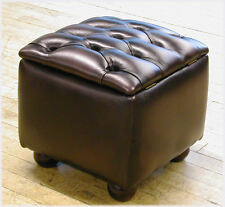 Chesterfield storage box / footstool B/NEW