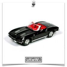 Minichamps 1/43 - Chevrolet Corvette convertible 1963 noir