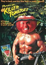 RETURN OF THE KILLER TOMATOES MOVIE RETRO A3 ART PRINT POSTER YF5426