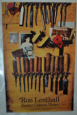 Victoria and Albert V&A MUSEUM POSTER RON lenthall maestro falegname 1981