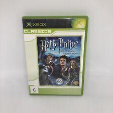 HARRY POTTER & THE PRISONER OF AZKABAN OG Xbox Complete PAL Game VGC