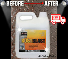 KBS Rust Blast 4 Liters Rust Remover Removal RustBlast Corrosion Prevention