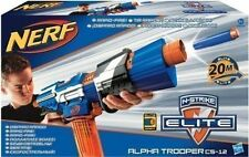 Brand New NERF Elite ALPHA TROOPER CS-12 Dart Blaster