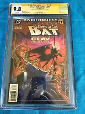 Batman: Shadow of the Bat #27 - DC -CGC SS 9.8 - Signed by Stelfreeze Blevins