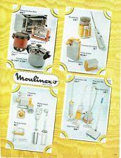 Publicité Advertising   1974   Moulinex   éléctroménager  cocotte  friteuse  ro