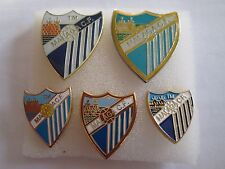 lotto 5 pins lot MALAGA CLUB DE FUTBOL FC club spilla football calcio spille
