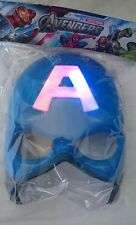 Captain America LIght up masks Fancy Dress Cosplay
