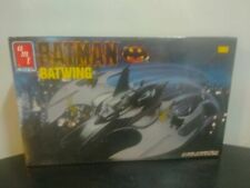 VINTAGE 1990 AMT ERTL BATMAN BATWING 1/25 MODEL KIT FACTORY SEALED #6970 DC