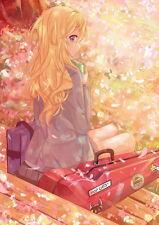 "016 Your Lie in April - Shigatsu wa Kimi no Uso Japanese Anime 14""x20"" Poster"