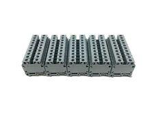 Lot of 50 Entrelec Type M/8 IEC-947-7-1 Terminal Blocks