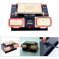3 IN 1 MIDDLE BEZEL FRAME SEPARATOR MACHINE+ LCD SCREEN +BUILT IN VACUUM PUMP
