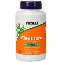 Eleuthero 100 Caps 500 mg by Now Foods
