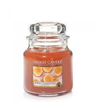 YANKEE CANDLE candela profumata giara media Honey Clementine durata 90 ore