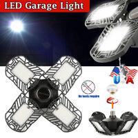 120W LED Garage Light Deformable Ceiling Light 192-LED For Workshop E26/E27 Base