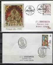 2 Briefe von Spanien