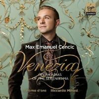 MAX E. CENCIC/MINASI - VENEZIA-OPERA ARIAS CD NEU VIVALDI/CALDARA/ALBINONI/+