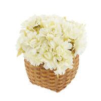 60x Artificial Flower Heads Silk Daisy Wedding Floral Decor DIY Bouquet Decor