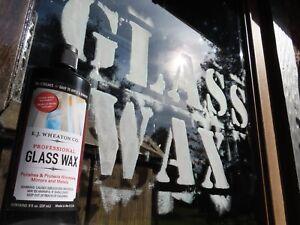 E.J. Wheaton Co. Professional Glass Wax, Dries Chalk White, Easy to Apply