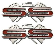 1961 61 Chevy Impala SS Supersport Quarter Emblems Pair