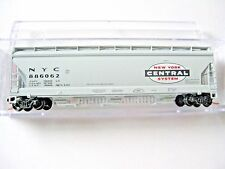 Micro-Trains Stock #09300030 New York Central 3-Bay Covered Hopper N-Scale