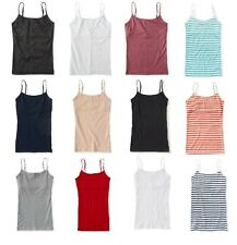 NWT AEROPOSTALE BASIC CAMI TANK TOP WITH SHELF BRA S M L XL XXL