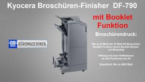 Kyocera Broschüren Dokumenten-Finisher mit Booklet+Lochen+Heften DF-790 BF-730-3