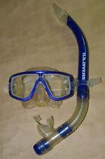U.S. Divers    Mask & Snorkel Set   Model Madera