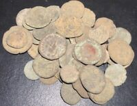 Ancient Uncleaned Roman Empire Coin From Imperial Rome Provence Spain Hispania