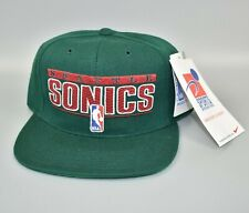 Seattle Sonics Supersonics NBA Sports Specialties Pro Shield Snapback Cap Hat