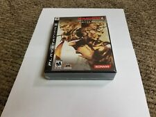 Metal Gear Solid 4: Guns of the Patriots Limited Edition Sony PlayStation 3 new