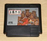 Nintendo Famicom Sangokushi II 2 FC NES Japan F/S