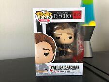 FUNKO POP! PATRICK BATEMAN AMERICAN PSYCHO MOVIE EXCLUSIVE FAST FREE SHIPPING